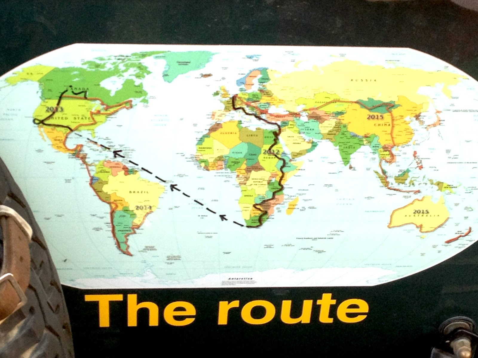 3 - The Route