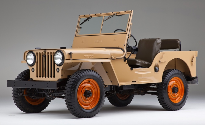1940s – Willys CJ-2A