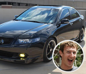 Mark Zuckerberg – Acura TSX
