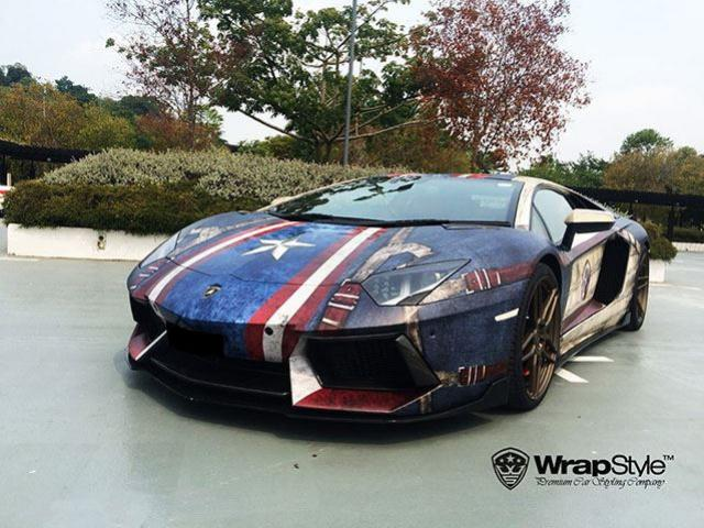 WrapStyle Shows Off Superhero Themed Supercars 10