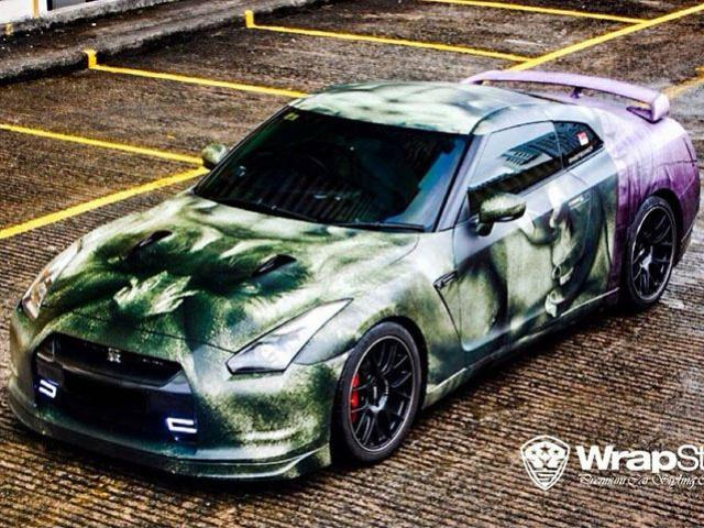 WrapStyle Shows Off Superhero Themed Supercars 11