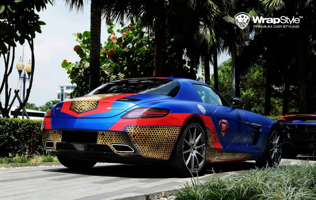 WrapStyle Shows Off Superhero Themed Supercars 5