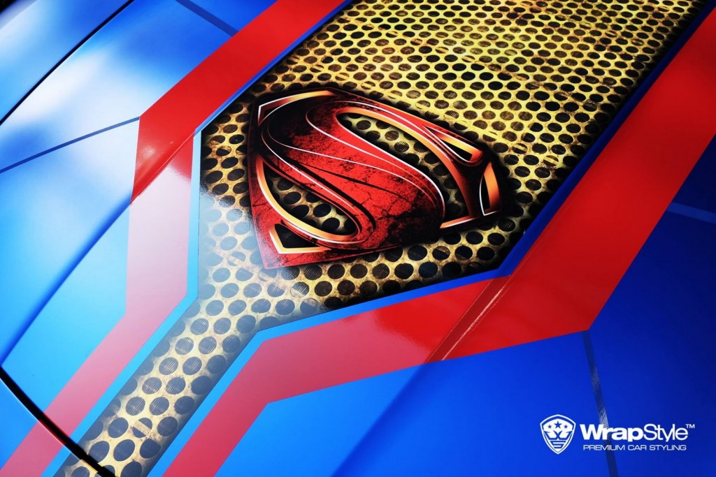WrapStyle Shows Off Superhero Themed Supercars 6