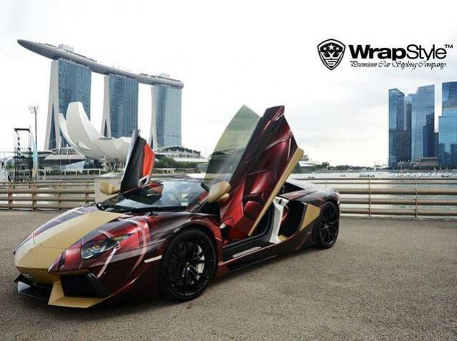 WrapStyle Shows Off Superhero Themed Supercars 9