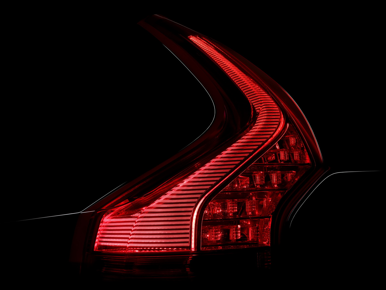 The new tattoo-like rear lights are an important design signature that will be mirrored across the range.