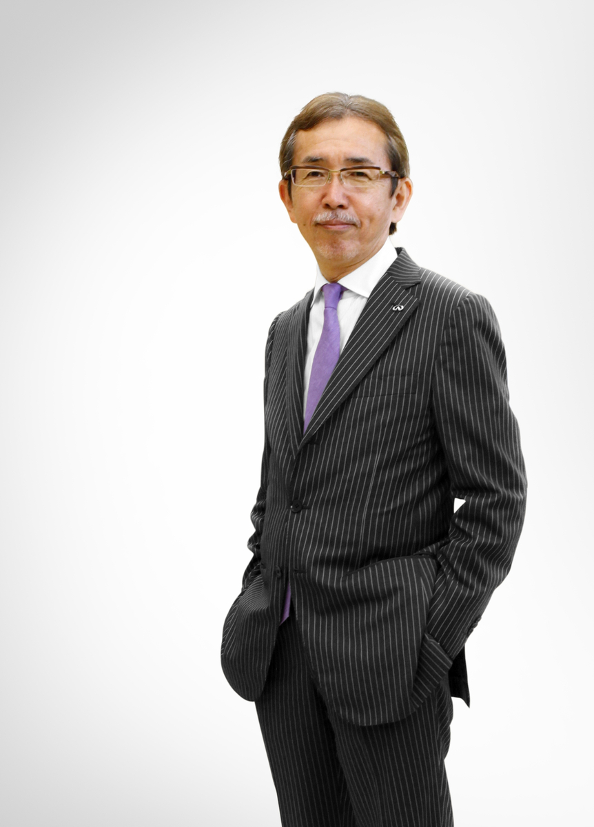 Shiro Nakamura is Senior Vice President and Chief Creative Officer of Nissan Motor Co., Ltd.