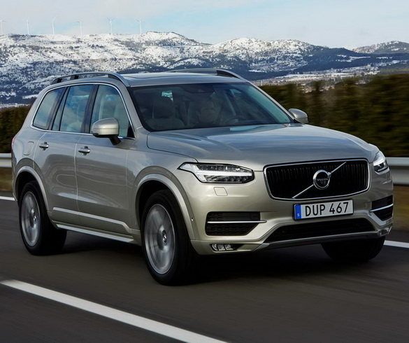The new Volvo XC90-the new volvo S90