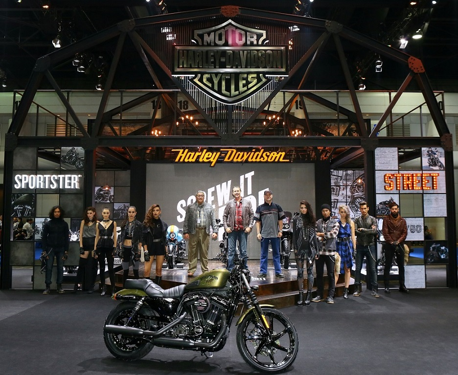 Harley-Davidson at the 37th Bangkok International Motor Show