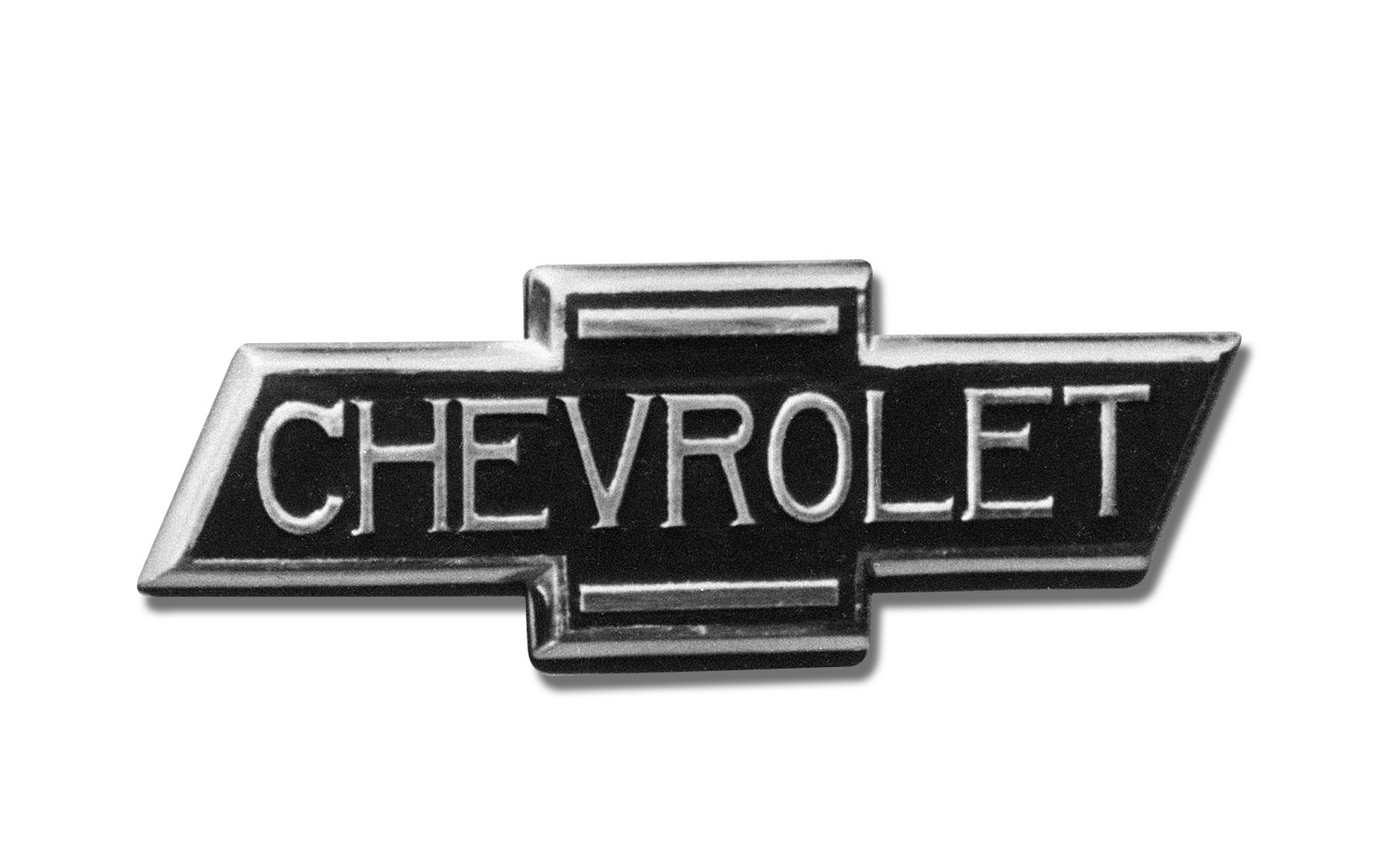 The Chevrolet bowtie as it appeared on all 1936 Chevrolet trucks.