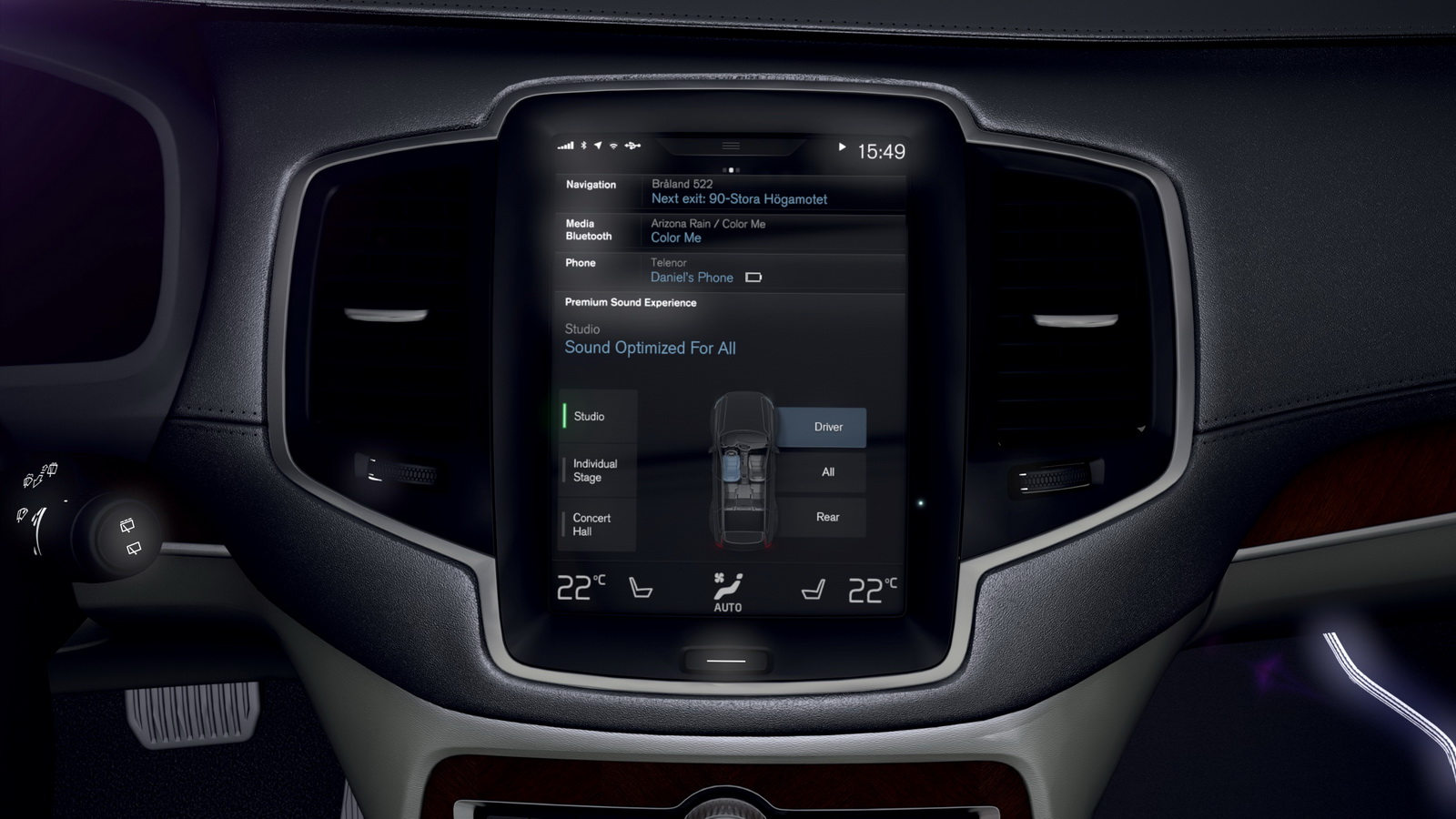 The all-new Volvo XC90, which will be revealed later this year, will offer drivers one of the top audio systems available in the automotive world after engineers at the Swedish car company joined forces with their counterparts at the renowned British audio equipment company Bowers & Wilkins.