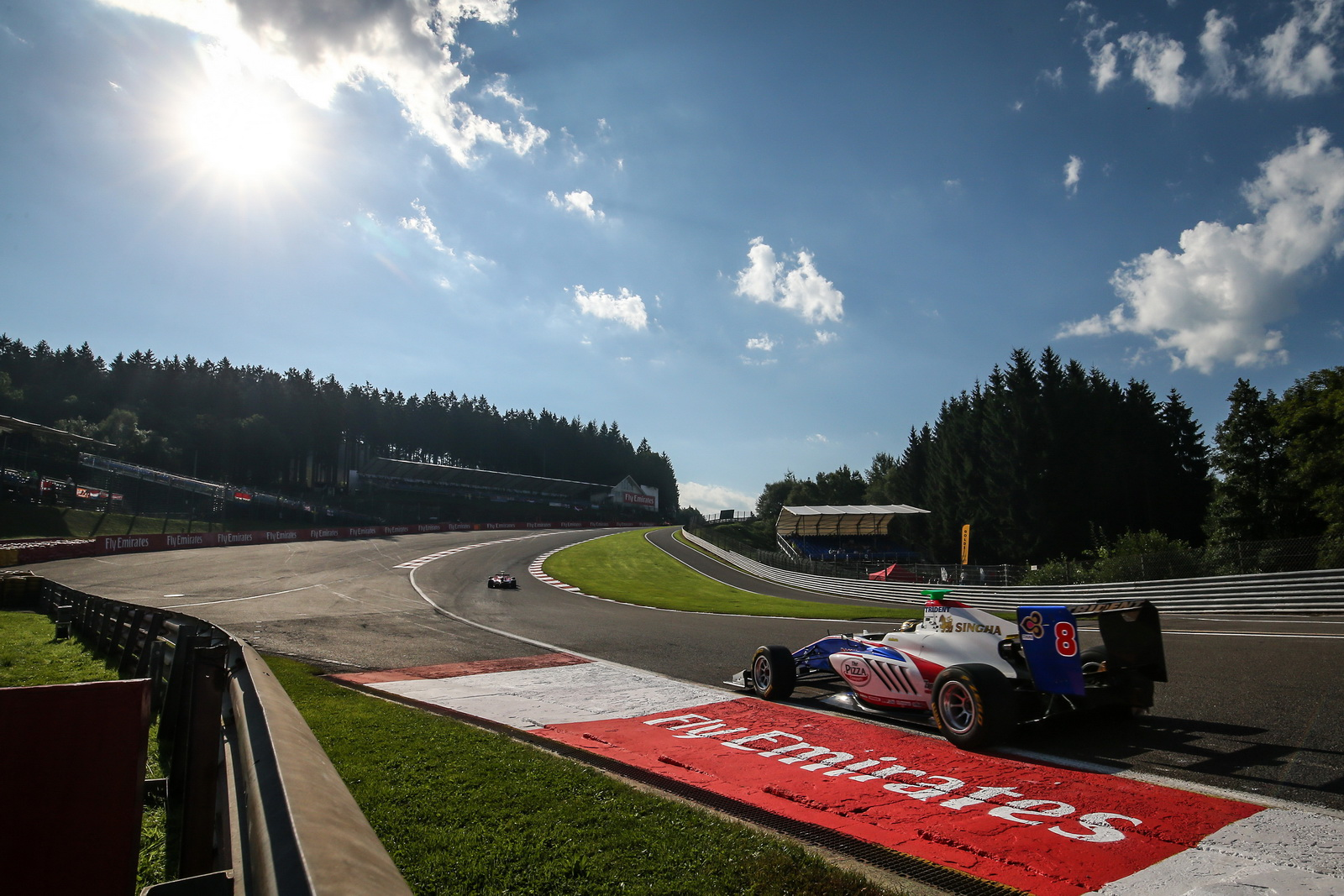 FRANCORCHAMPS (BEL) AUGUST 26-28 2016 - GP 2016 at Spa-Francorchamps. Sandy Stuvik #08 Trident. Action. ? 2016 Sebastiaan Rozendaal / Dutch Photo Agency