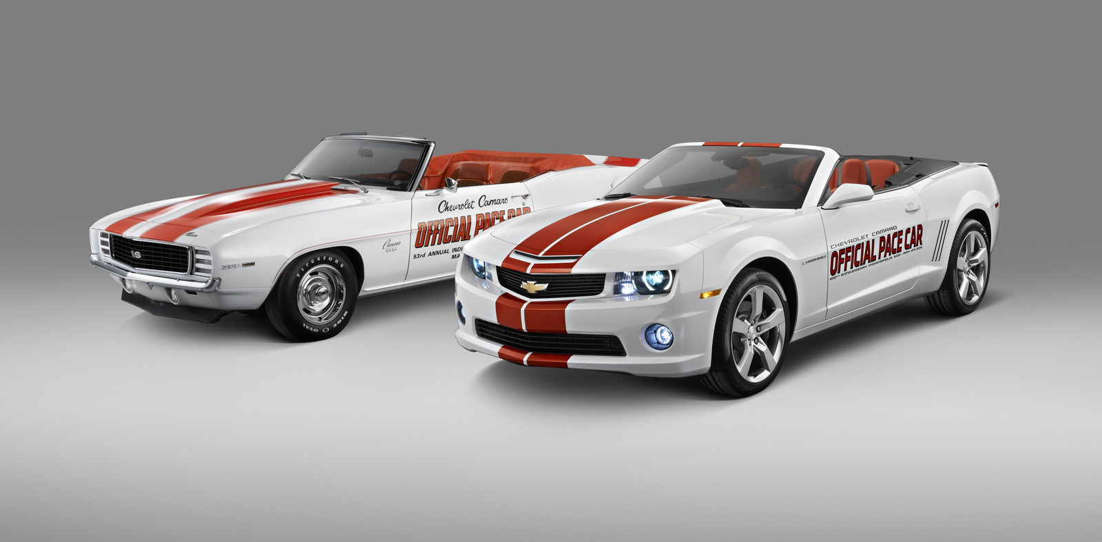 Chevrolet and the Indianapolis Motor Speedway announced that a special Chevrolet Camaro Convertible has been selected as the Official Pace Car of the 2011 Indianapolis 500.
