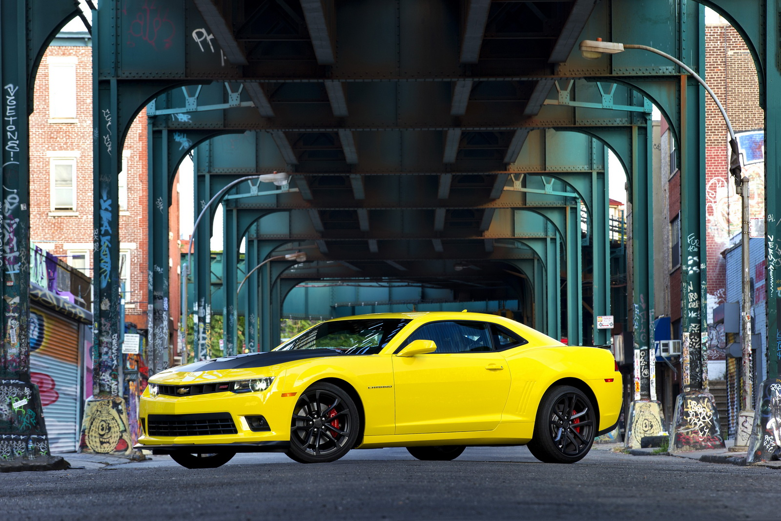 The 2014 Camaro is available with a track-focused 1LE Performance Package.