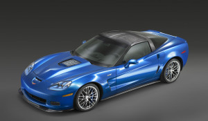 2009 Chevrolet Corvette ZR1.