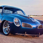 "Blue Mamba"" 1967 Karman Ghia body+V10 Viper engine & suspension"