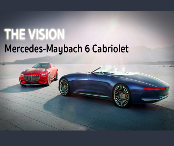 the vision mercedes maybach 6 cabriolet. Black Bedroom Furniture Sets. Home Design Ideas