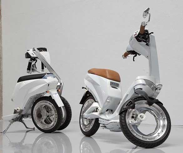 Ujet Smart Scooter สกูตเตอร์พลังไฟฟ้า พับได้