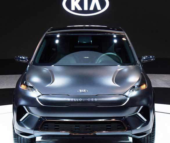 2018 Kia Niro EV concept ครอสโอเวอร์พลังไฟฟ้า เผยโฉมครั้งแรกในงาน CES 2018