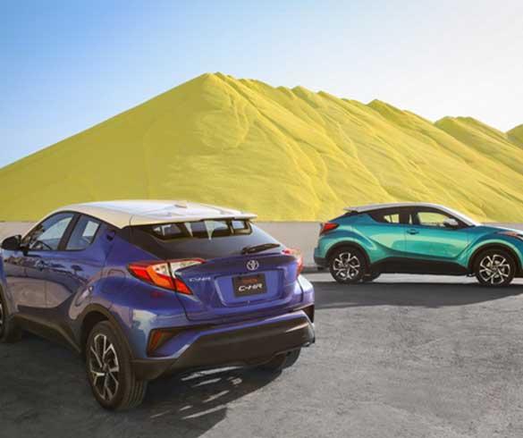 Toyota C-HR ขึ้นแท่นเอสยูวีใหม่ขายดีสุดของญี่ปุ่น