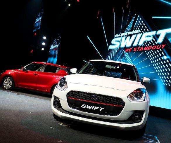 All New Suzuki SWIFT เปิดราคาเร้าใจเริ่มต้น 4.99 แสนบาท
