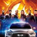 Nissan ส่งเอสยูวีหรู Infiniti QX50 ขึ้นจอ'Avengers: Infinity War'—เผยงบโปรโมตทะลุ 4.6 พันล้าน