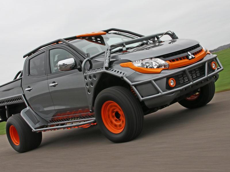 Mitsubishi ใส่ชุดแต่งพิเศษกระบะ Triton-ร่วมแสดงผาดโผน Fast & Furious Live