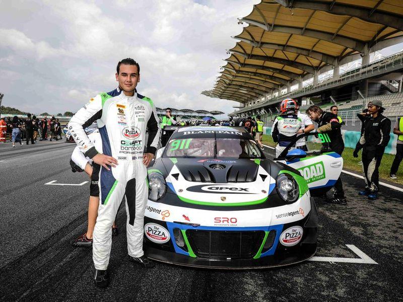 แซนดี้ สตูวิค เก็บคะแนนสะสมสนามแรกศึก Blancpain GT Series Asia