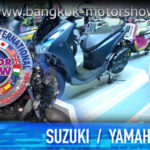 THE BANGKOK INTERNATIONAL MOTOR SHOW | SUZUKI | YAMAHA