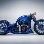 Harley Davidson Bucherer Blue Edition…คัสตอมช้อปเปอร์ ชุบทอง ฝังเพชร กับค่าตัวกว่า 50 ล้าน+++