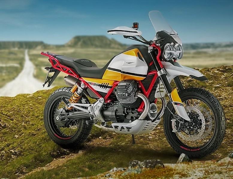Piaggio ยื่นจดสิทธิบัตร Moto Guzzi V85