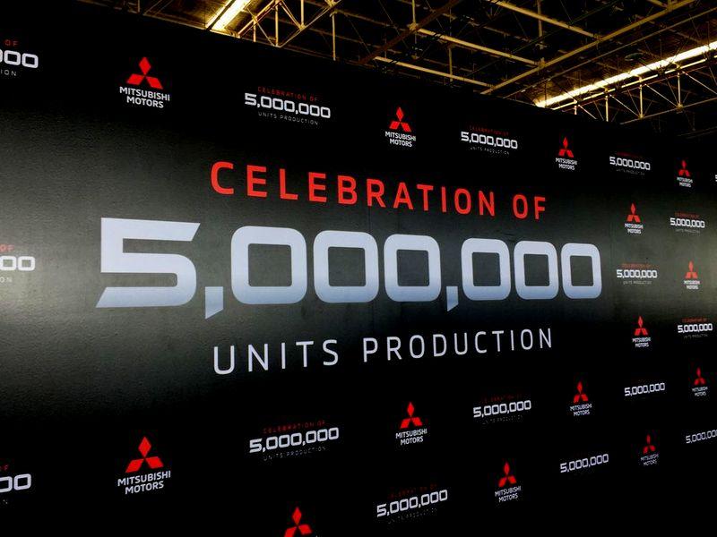 ไทม์ไลน์ข้อมูลสำคัญ มิตซูบิชิ ฉลองผลิตรถยนต์ครบ 5 ล้านคัน!