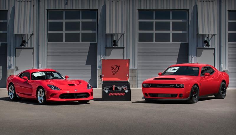 ราคาสุดท้ายของ Dodge Viper และ Challenger SRT Demon คันสุดท้ายจากสายการผลิต