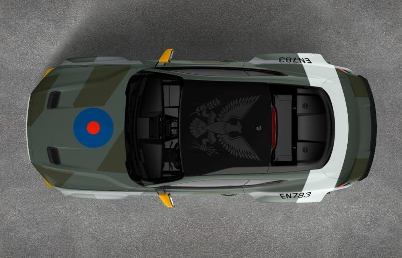 Ford Mustang GT คันเดียวเป็นเกียรติแก่นักบินสงครามโลกครั้งที่ 2