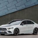 Mercedes-Benz เตรียมส่งตัวถังซีดานของ A-Class ลุยตลาดโลก