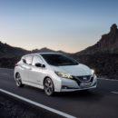 Nissan Leaf ใหม่จะมีกำลังมากขึ้นและไปได้ไกลขึ้น