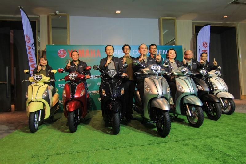 """Yamaha เปิดตัวจักรยานยนต์ไฮบริดครั้งแรกในประเทศไทยกับ """"Yamaha Grand Filano Hybrid"""""""