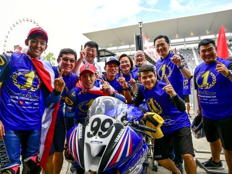 ขุนพลยามาฮ่าสุดแกร่ง ควบ R-Series คว้าชัย Suzuka Endurance Race 2018