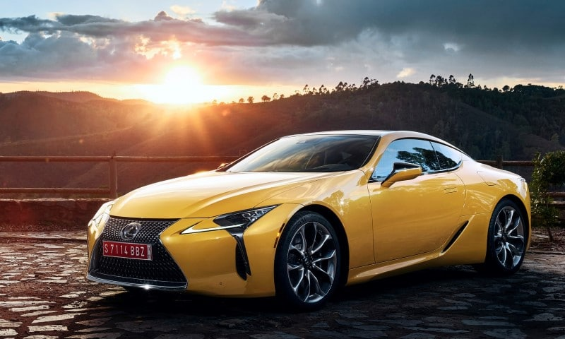 lexus lc yellow edition. Black Bedroom Furniture Sets. Home Design Ideas
