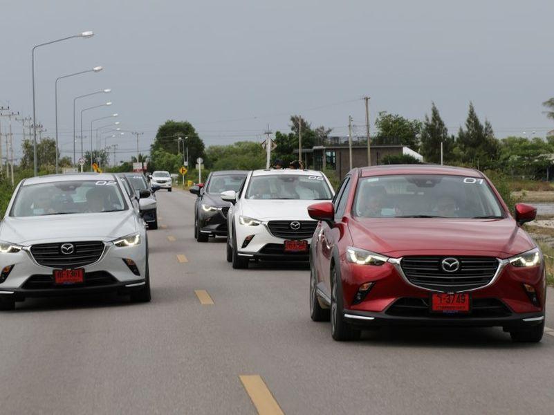 Test Drive Mazda CX-3 2018 ไมเนอร์เชนจ์ เปลี่ยนตรงไหน อะไรที่ว่าเด็ด มาดูกัน !!
