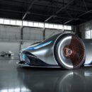 Mercedes-Benz Vision EQ Silver Arrow แรงบันดาลจากอดีตสู่ดีไซน์ล้ำ