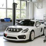 Porsche Cayman GT4 Clubsport พร้อมลงสนามทดสอบในรายการ German WRC