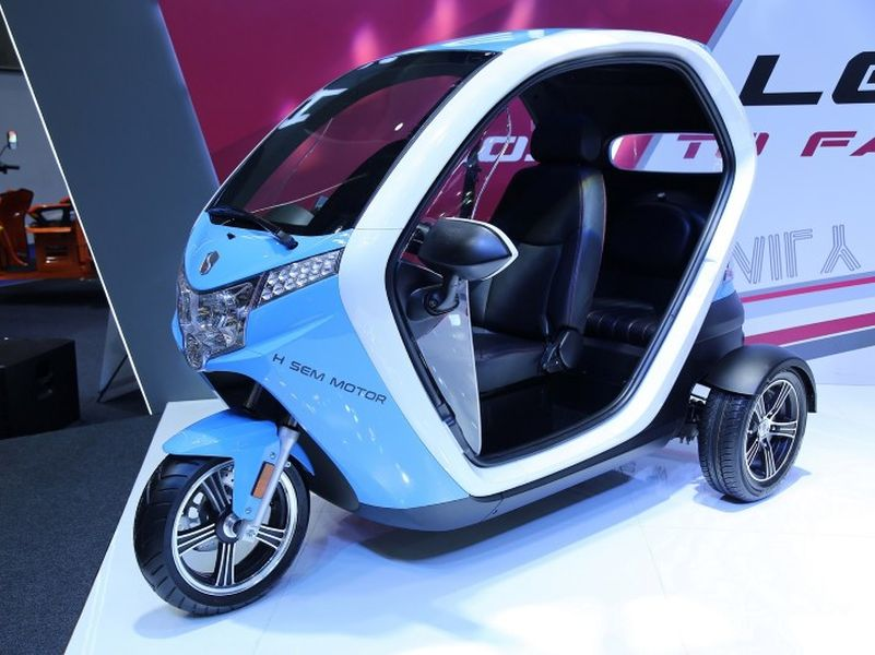 SEV FUTURO รถสามล้อไฟฟ้า ดีไซน์ล้ำสมัย ราคา 1.6 แสนบาท