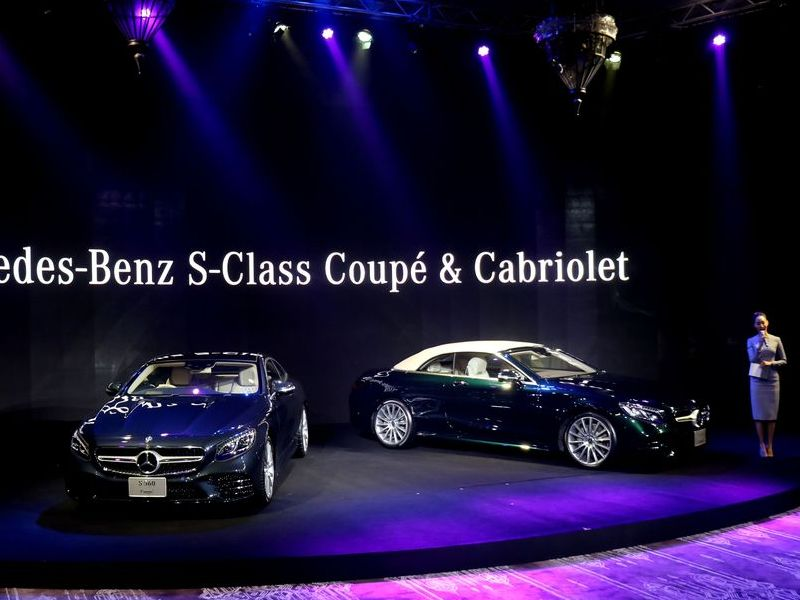Mercedes-Benz S-Class Coupé และ Cabriolet สปอร์ตหรูรุ่นล่าสุดกับราคาเริ่มต้น 15.99 ล้านบาท