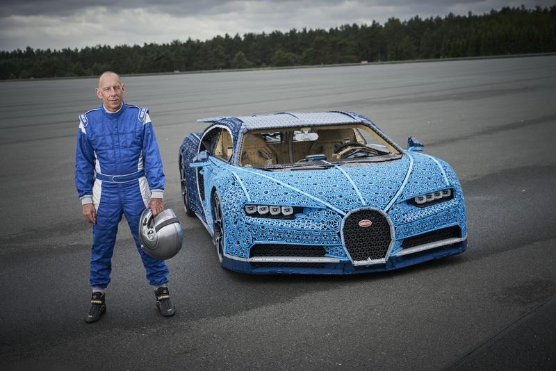 ที่สุดของ Lego Technic โมเดล Bugatti Chiron ขนาดเท่าคันจริงและขับได้จริง