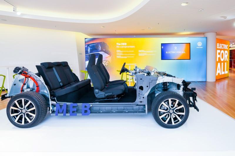 Volkswagen เปิดตัวแชสซีส์สำหรับรถพลังงานไฟฟ้าในอนาคต