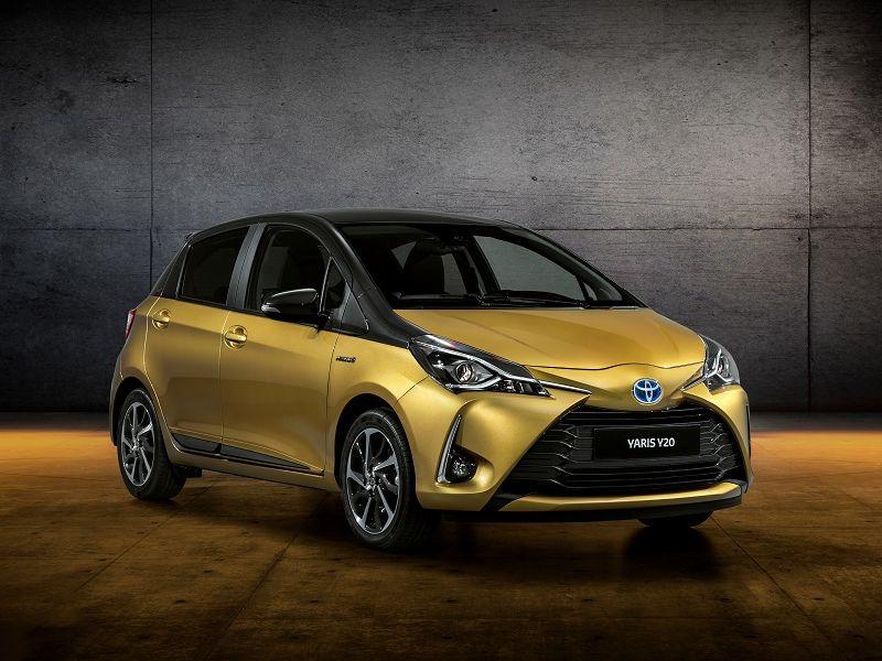 Toyota Yaris ฉลอง 20 ปี ส่งรุ่นพิเศษสีทองทูโทน Y20-ผลิตลิมิเต็ด 1,998 คัน