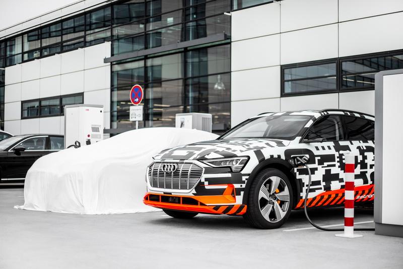 Audi เตรียมรองรับการชาร์จพลังงานสำหรับ E-Tron