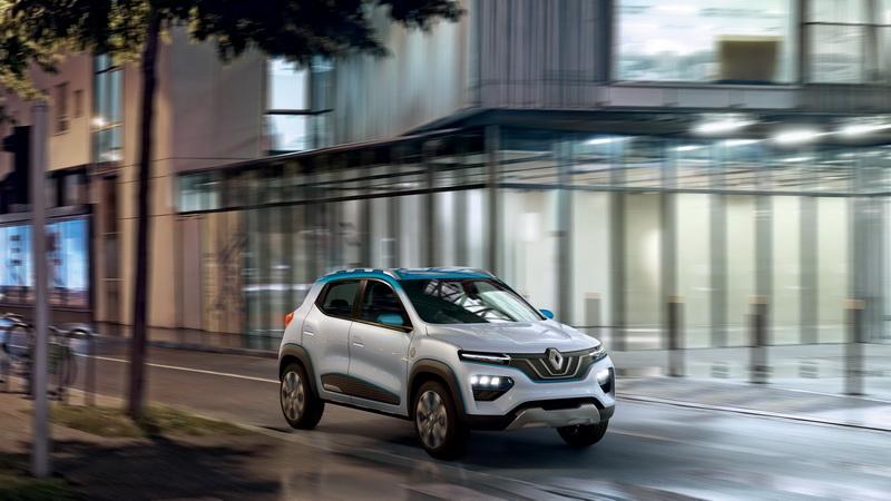 Renault K-ZE สำหรับตลาดรถเอสยูวีพลังงานไฟฟ้าราคาประหยัด