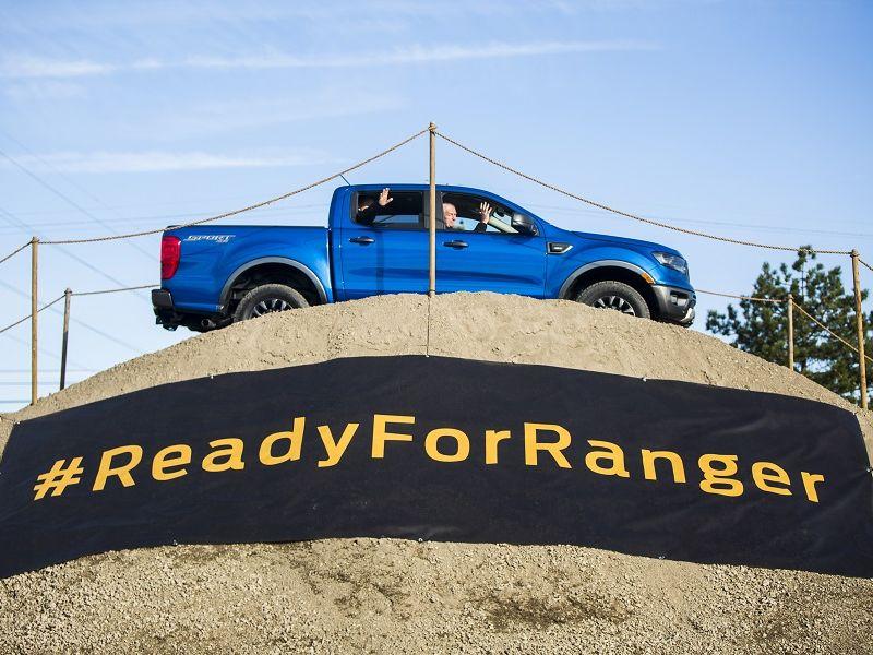 ฟอร์ด อเมริกา ฉลองเริ่มผลิตกระบะพันธุ์แกร่ง Ranger-ประเดิมรง.ใหม่ 2.8 หมื่นล้านบาท