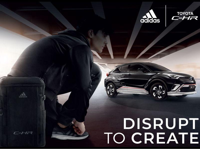 TOYOTA จับมือ ADIDAS JAPAN ตอกย้ำผู้นำเทรนด์ Toyota C-HR l ADIDAS เพียง1200 ชุดเท่านั้น